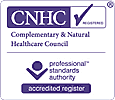 Registered with the Complimentary & Natural Healthcare Council